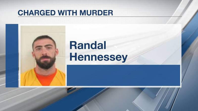 Randal J. Hennessey is charged with murder in the death of Douglas Michaud, 31.