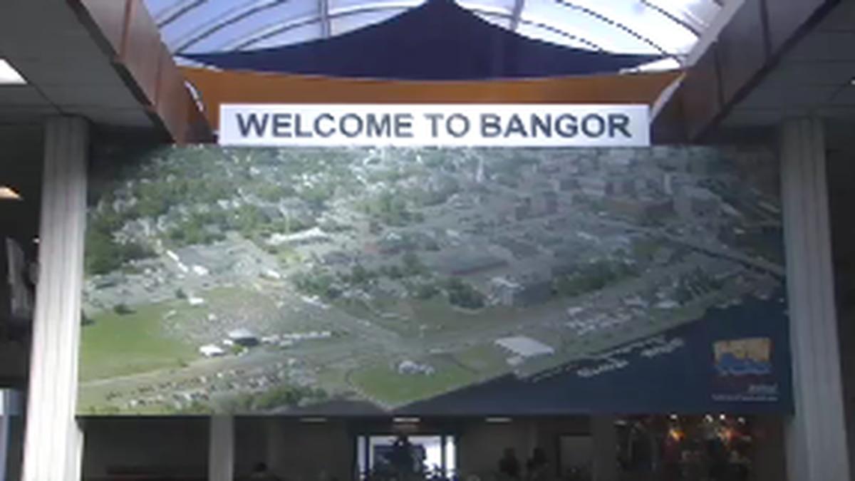 Vacation travel is soaring at Bangor International Airport.