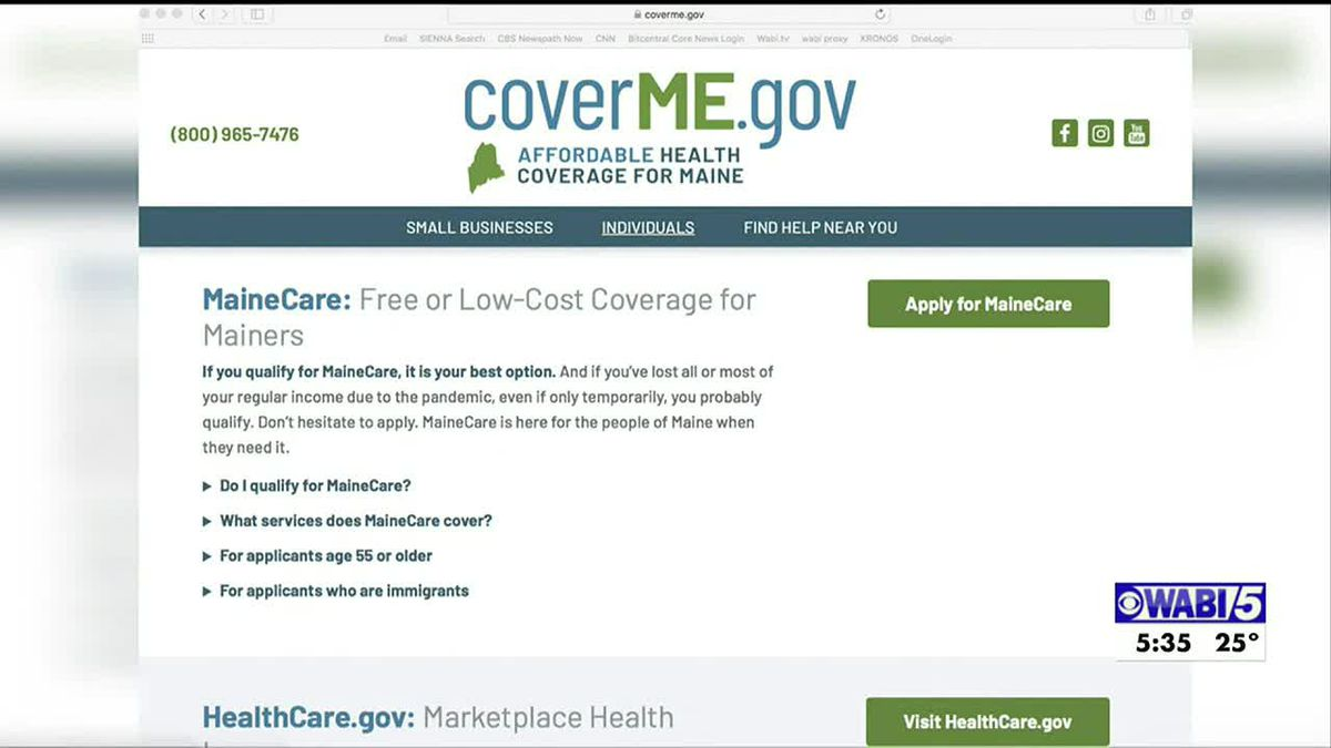Special open enrollment for health insurance