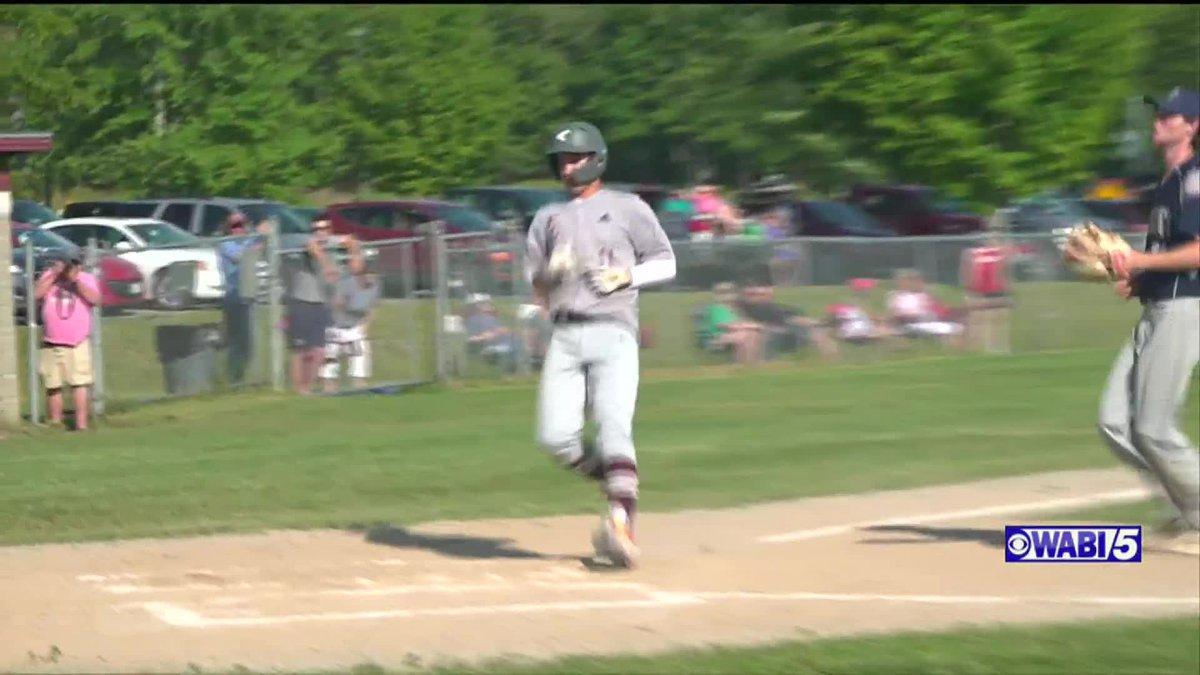 Ellsworth baseball blanks Presque Isle to advance in playoffs