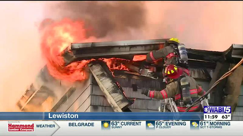 Three teenagers have been charged with setting a weekend apartment building fire in Lewiston...