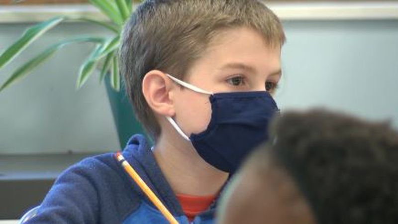 Maine officials say unvaccinated kids should wear masks