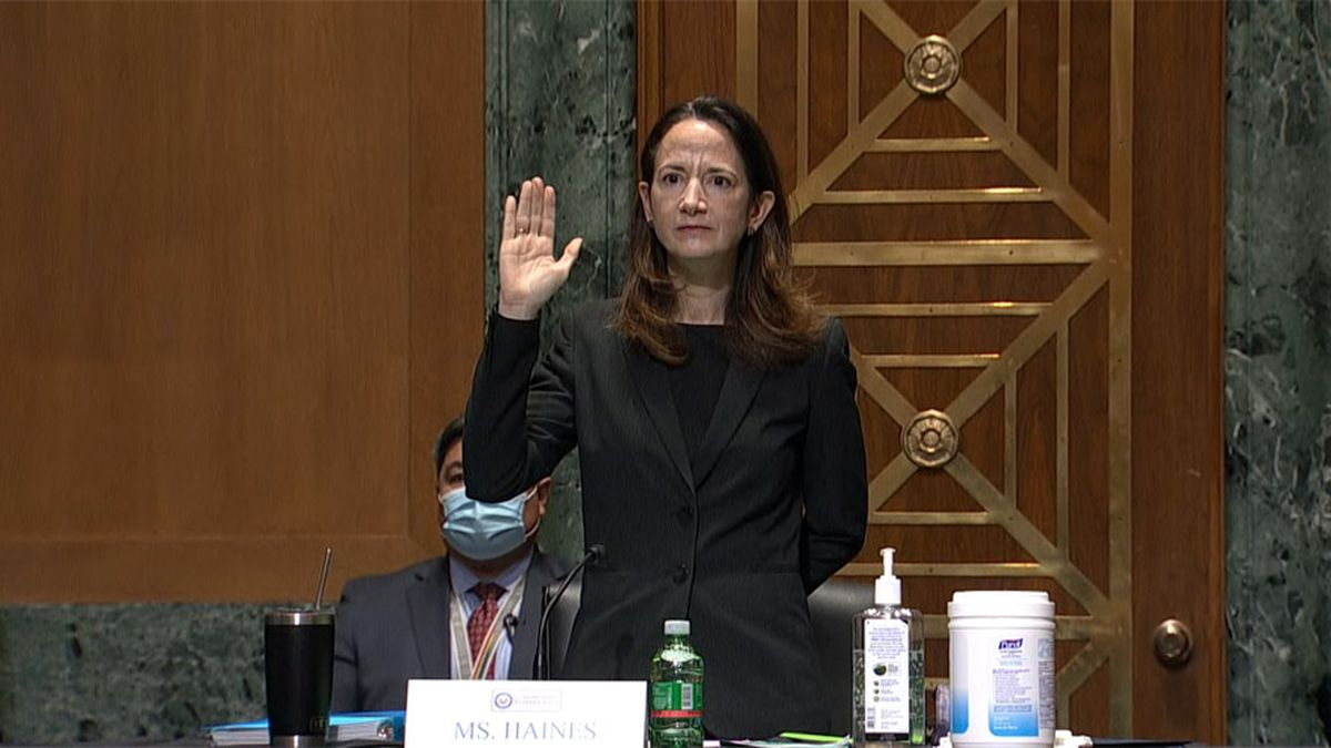 Senators King, Collins Vote to Confirm Avril Haines as Director of National Intelligence.