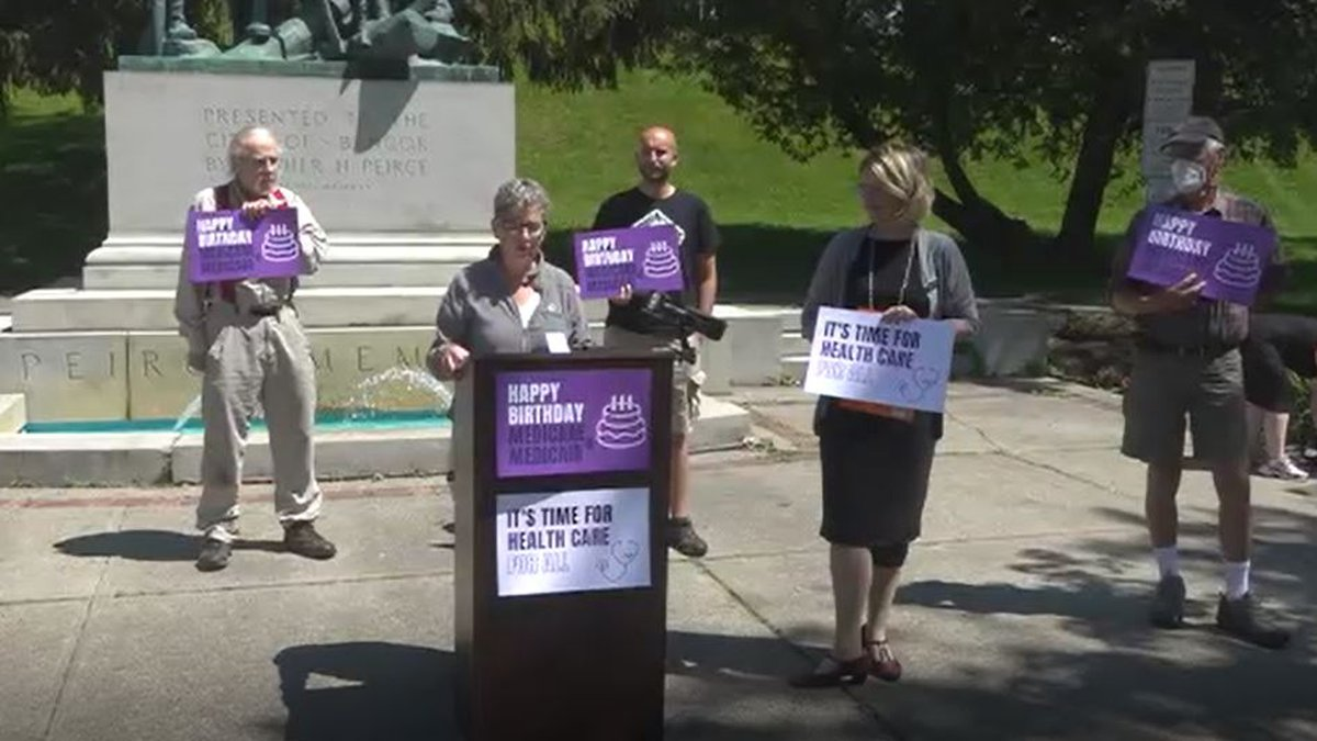 Local officials are calling for change, while celebrating the anniversary of health care that...