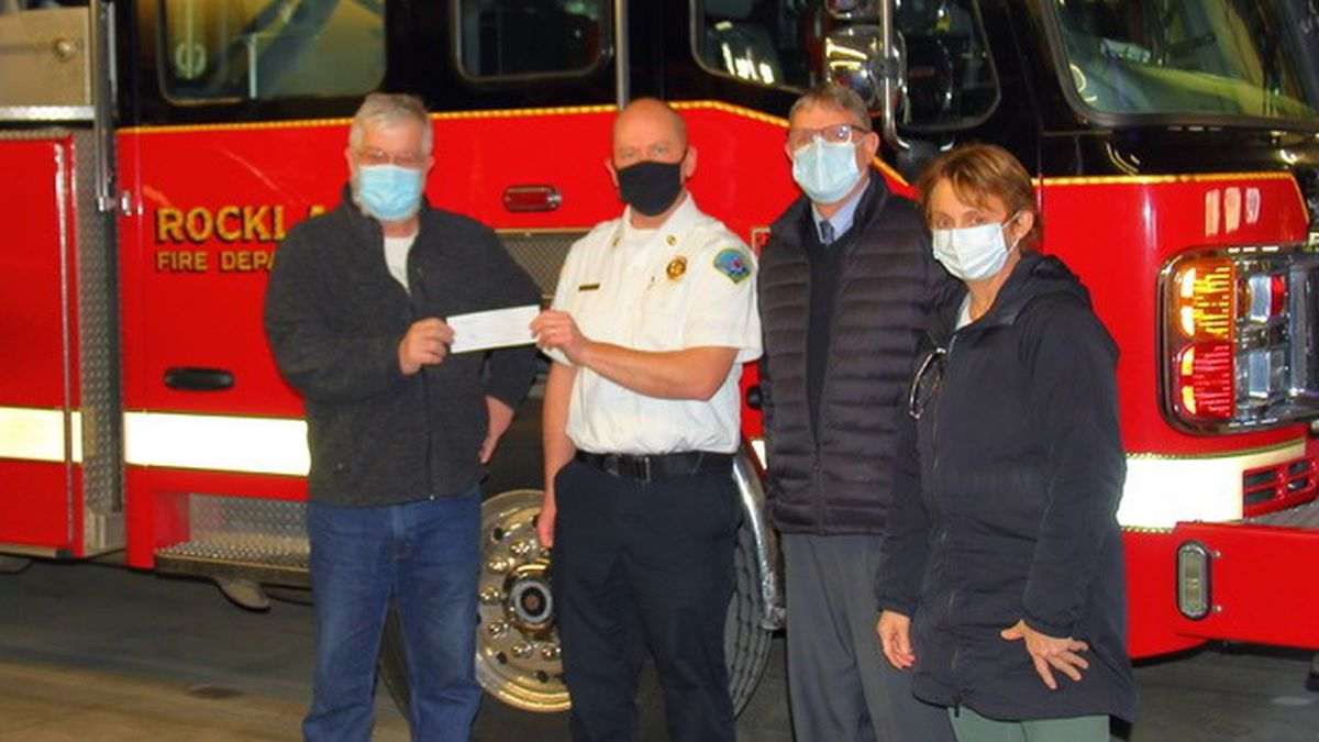 The Rockland Fire Department has received a generous donation to help administer COVID-19...