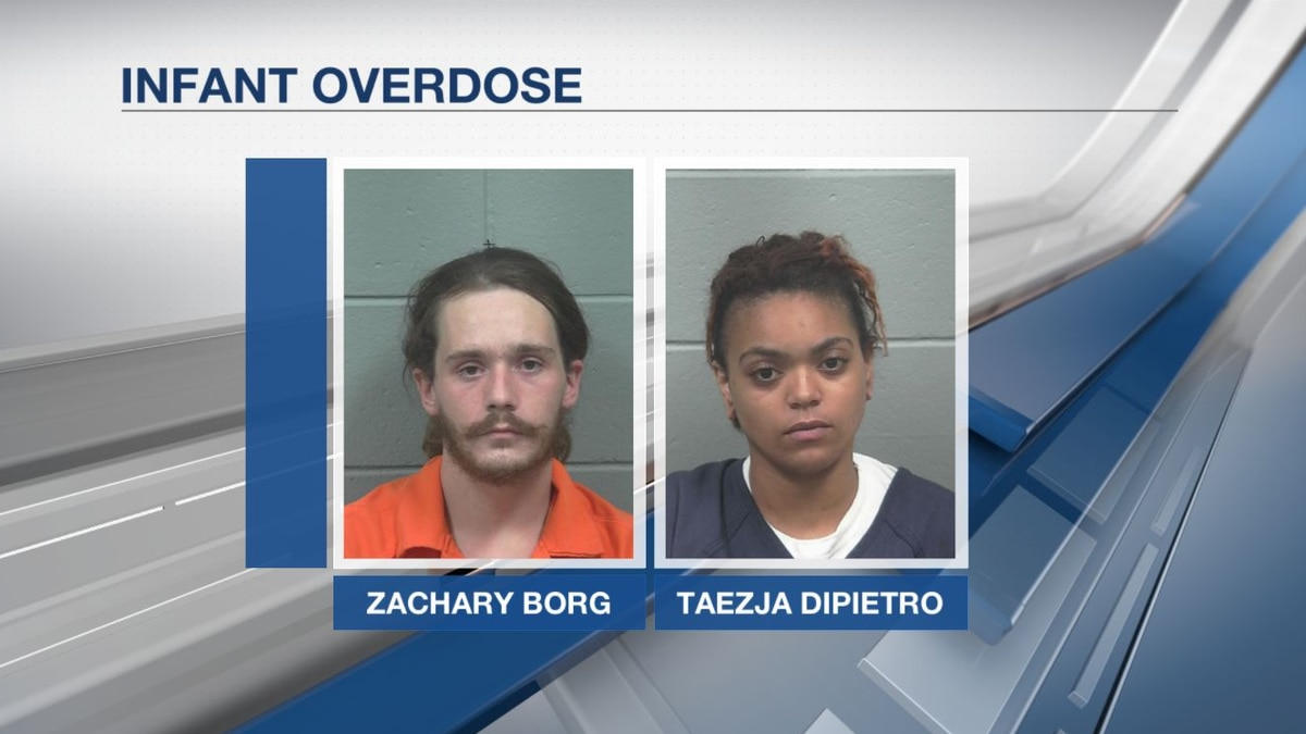 Two arrested in connection to child overdose in Corinna