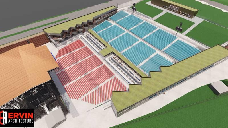 The inaugural season at Maine Saving Amphitheater kicks off in June 2022.