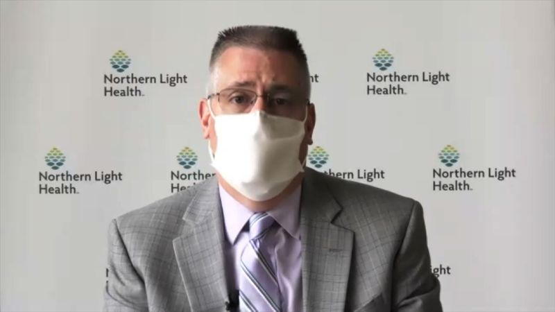 Dr. James Jarvis with Northern Light Health