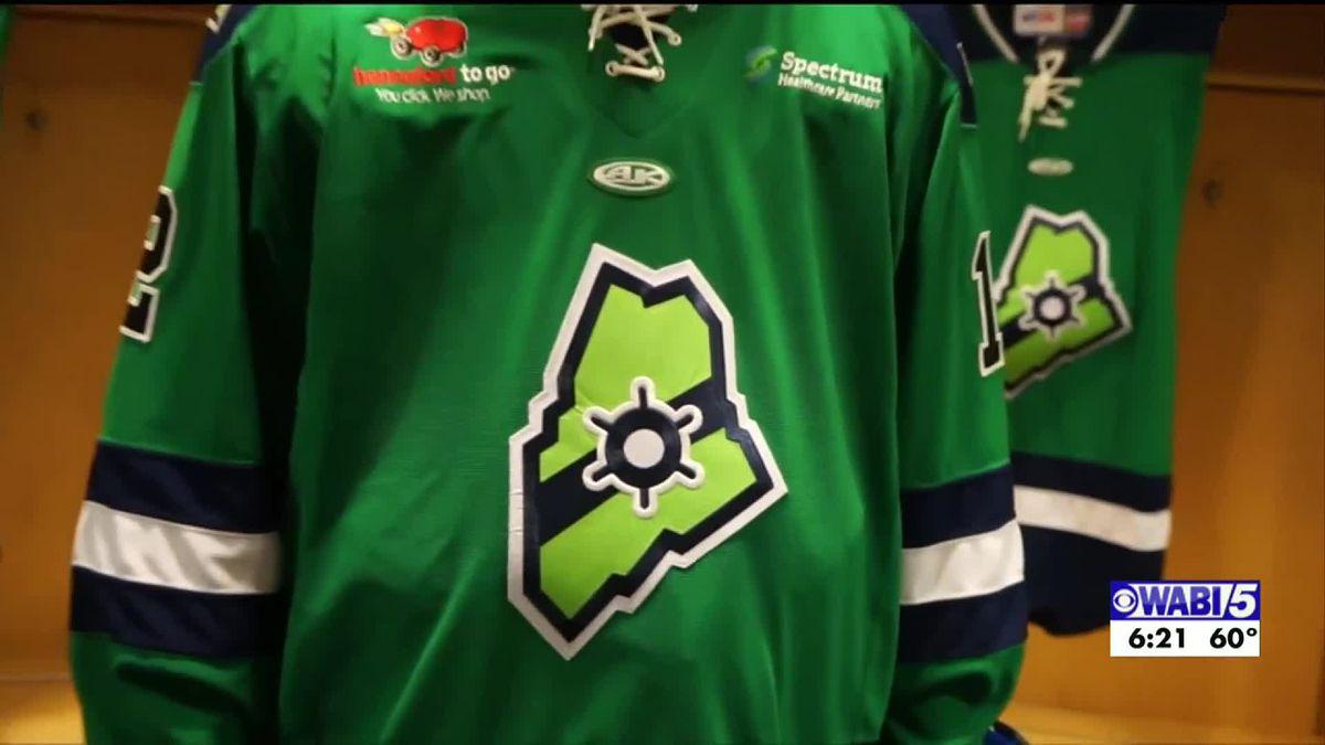 Maine Mariners unveil new third jersey