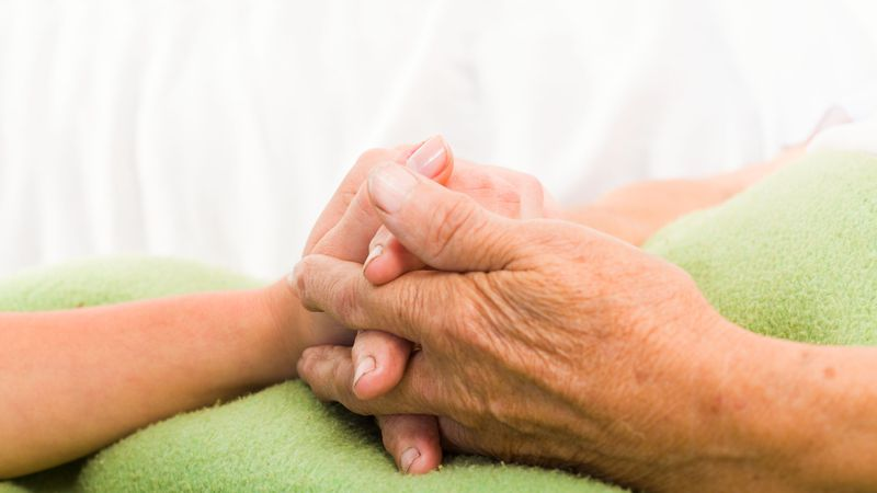 Nursing homes react to pandemic a year later.