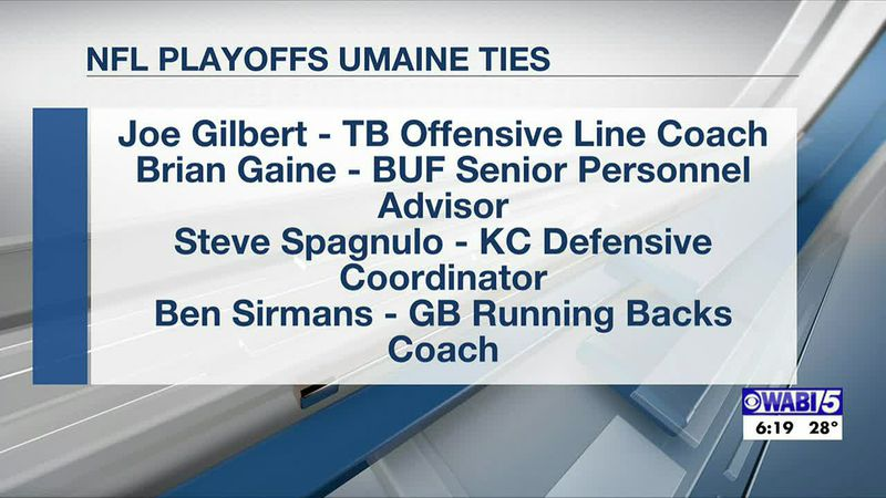 UMaine football has connections on all 4 remaining NFL teams
