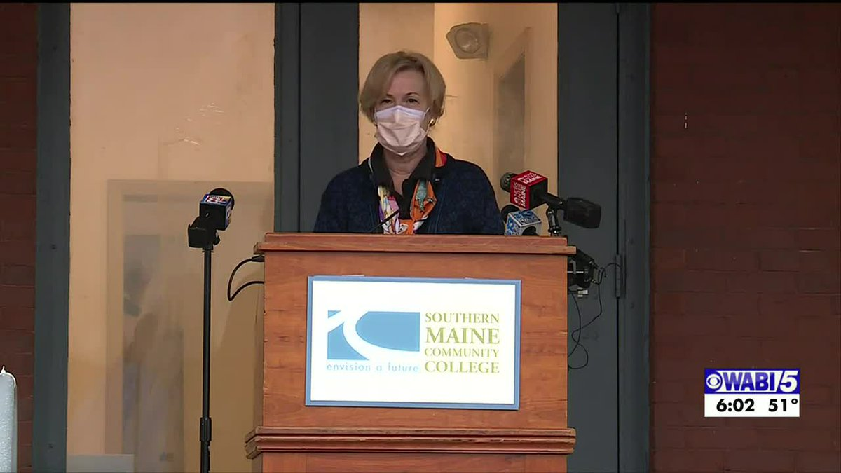 Dr. Birx urges Mainers not to let guards down in fight against COVID-19 during visit to...