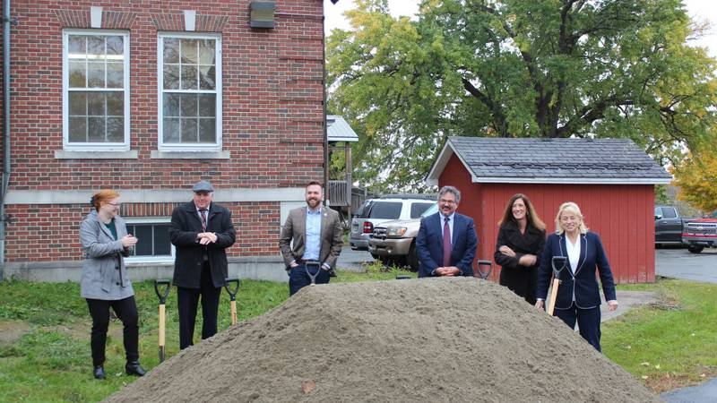 State officials broke ground with KVCAP for New Affordable Housing Project