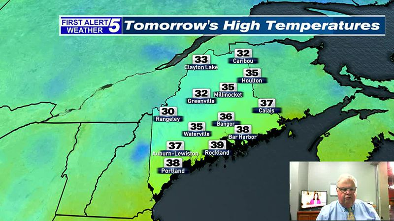 Mostly Cloudy & Rather Mild Tonight & Thursday