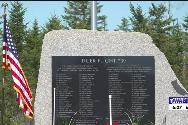 New monument honors victims of military plane crash.