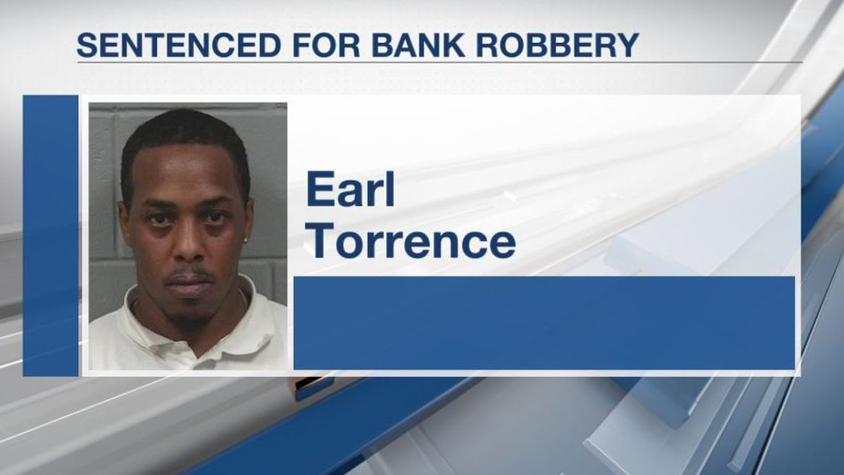 44-year-old Earl Torrence was sentenced Friday in federal court.