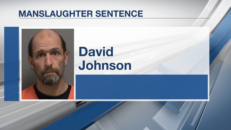 David Johnson was sentenced on Thursday.
