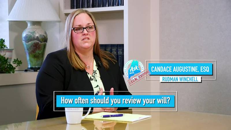 Reviewing your will