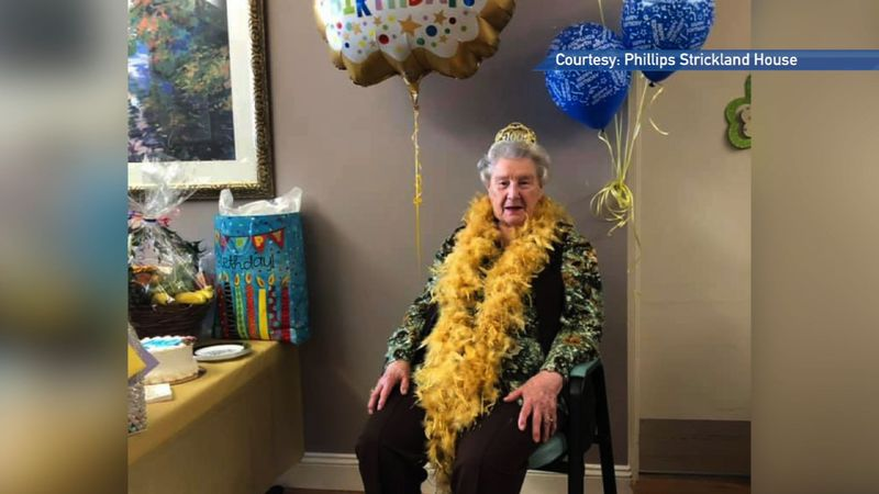 Bangor resident sends message of love to her family as she turns 100