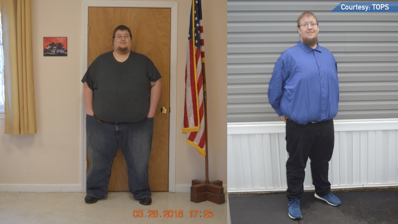 Michael Deabler has lost nearly 200 pounds throughout his weight loss journey