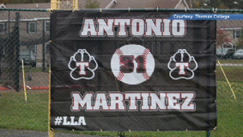 Friends and community around the school unveiled the Antonio Martinez Memorial Bullpen in a...
