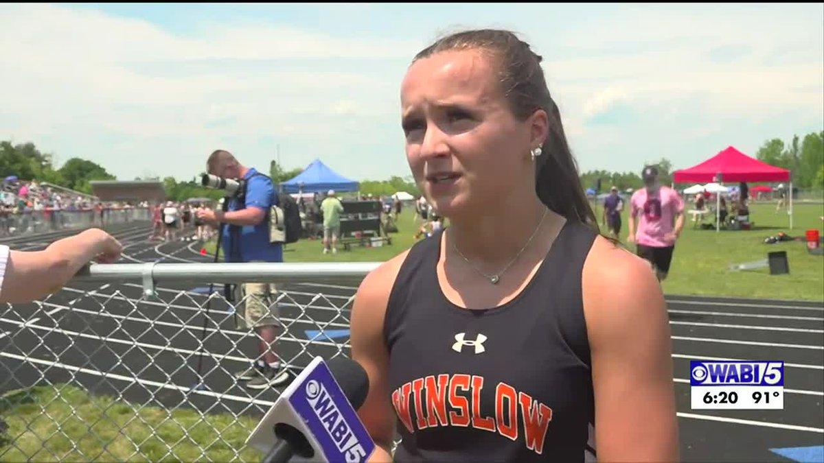 School record-setting Warn surprised herself this track season
