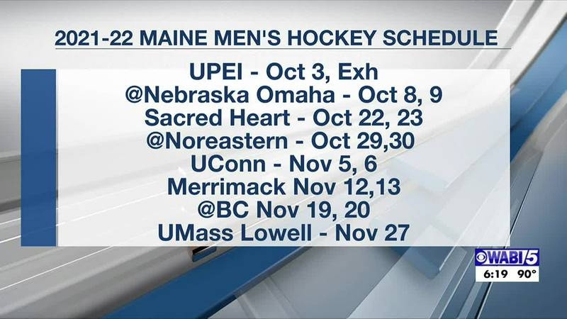 Maine men's hockey announces schedule with home games, fans allowed