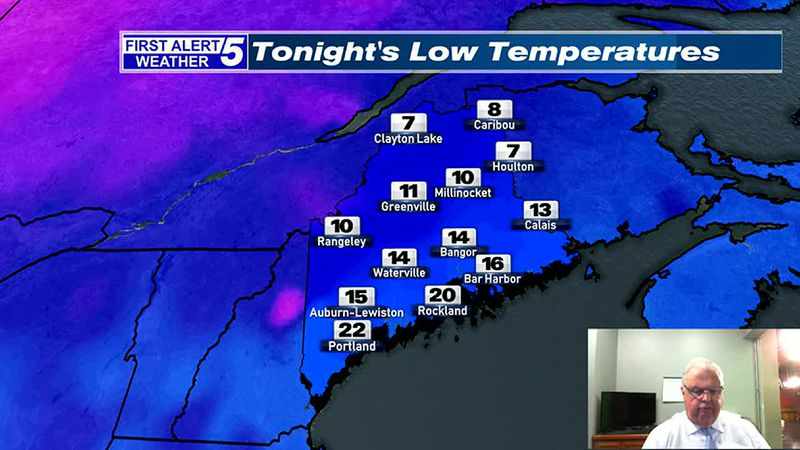 Increasing Clouds & Cold Tonight, Developing Light Snow & Mix Wednesday