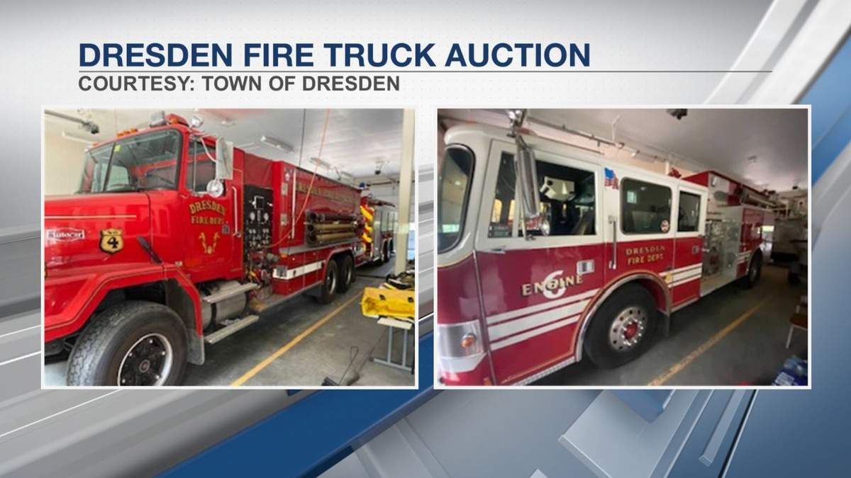 Dresden auctioning off used fire trucks