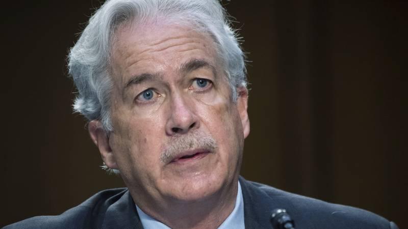 FILE - In this April 14, 2021 file photo, CIA Director William Burns testifies during a Senate...