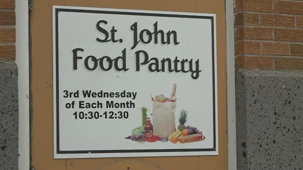 St. John Food Pantry in Winslow