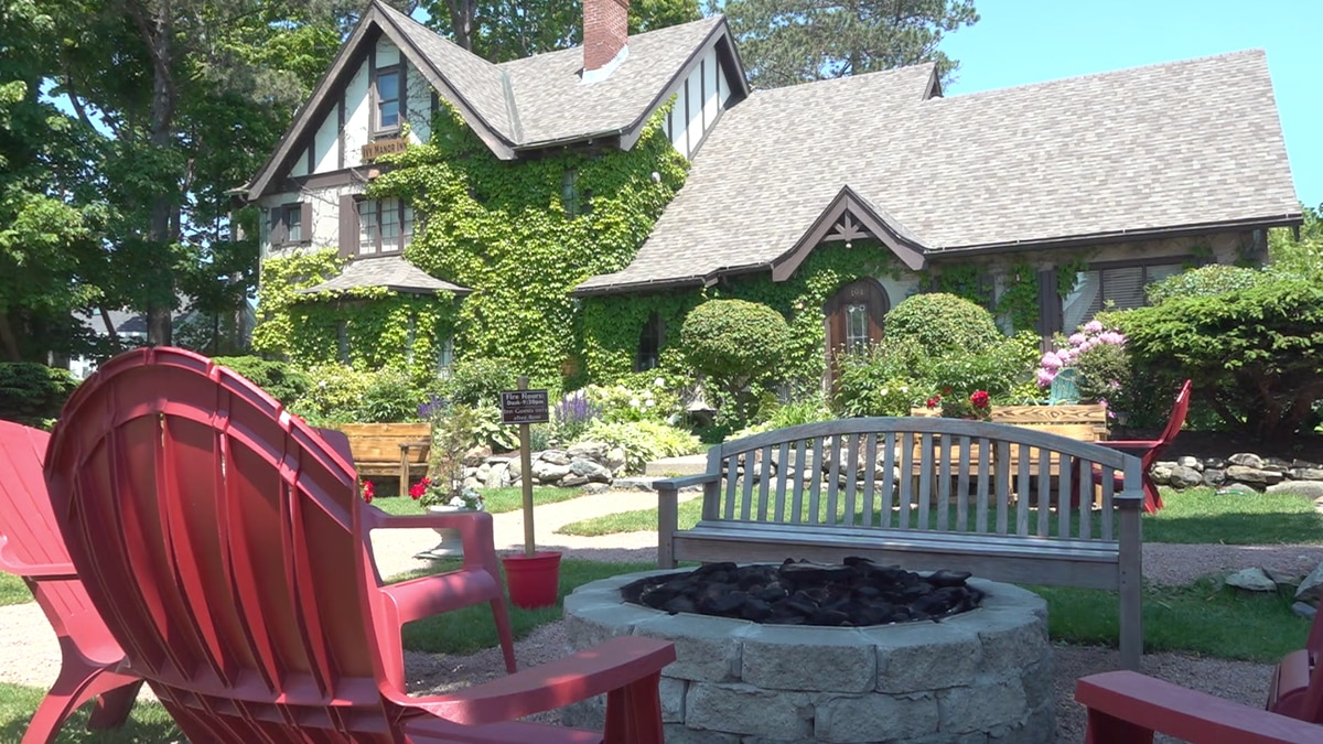 The Ivy Manor Inn in Bar Harbor went saw between 100 and 150 calls per week in April for summer...