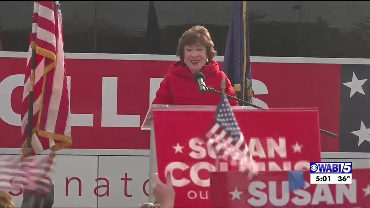 Sen. Susan Collins share her thoughts on the Presidential election
