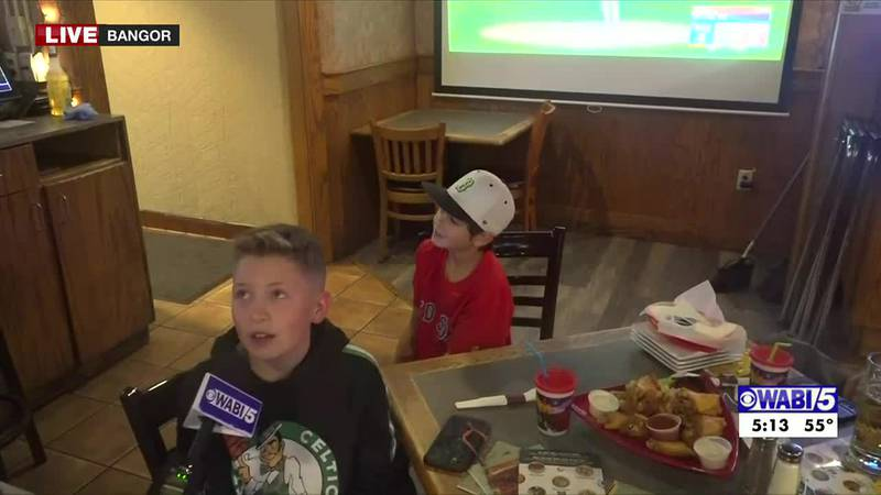TV5 catches up with Sox nation at Ground Round 1