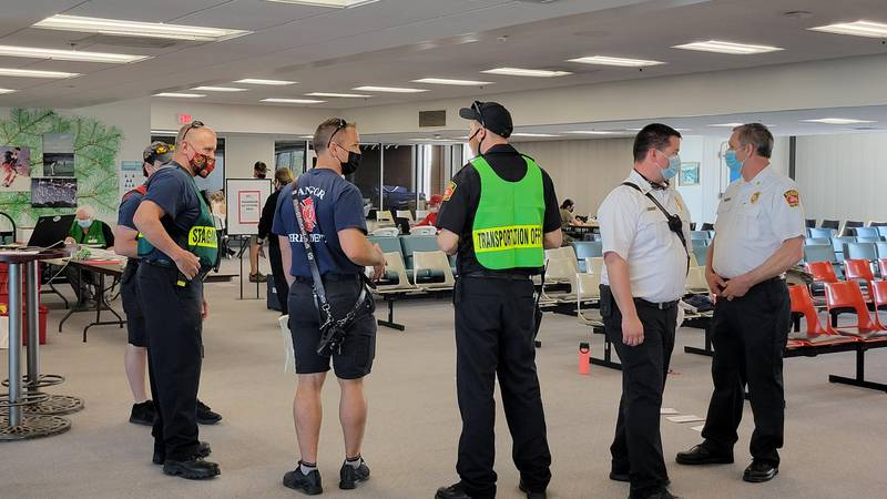 Bangor International Airport conducts Full Scale Emergency Exercise