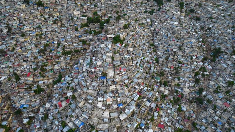 FILE - A view of the densely populated Jalousie neighborhood of Port-au-Prince, Tuesday, Sept....