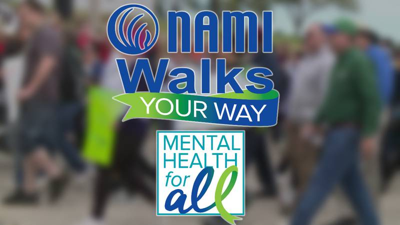 On Oct. 9, 2021, NAMI Maine hosted a walk to help support those with mental illness.
