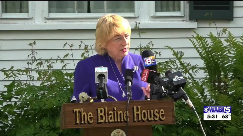 Mills will be quarantining at the Blaine house through December 12.