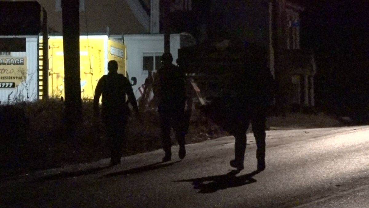 Multiple law enforcement agencies respond to incident in Skowhegan.