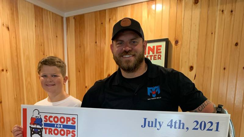 A 11-year-old boy from Connecticut has partnered with the Travis Mills Foundation in Maine to...