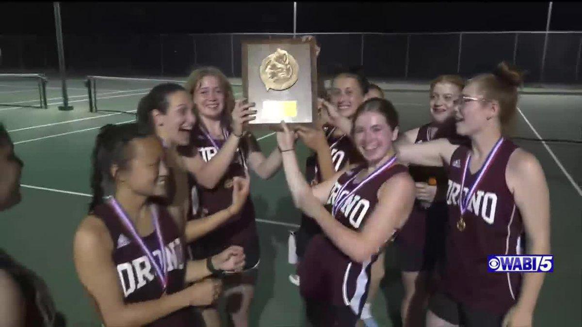 Orono tops Mattanawcook to claim girls class C northern Maine tennis title