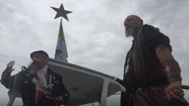 'The Back and Forth' is hosting a pirate takeover day at the Belfast City Harbor Dock Saturday....