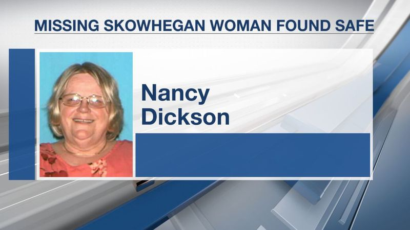Silver Alert cancelled after Skowhegan woman found safe