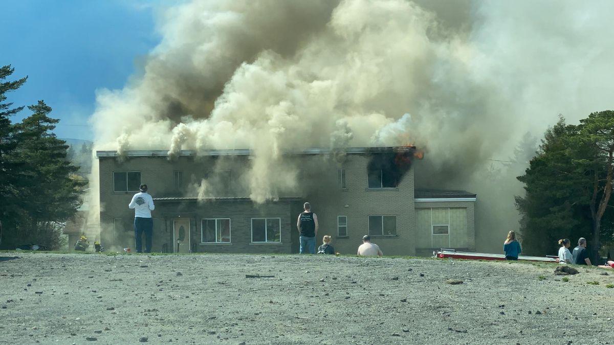 Apartment Fire Madawaska