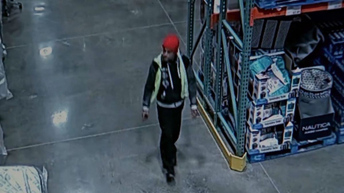 A man allegedly hid in a Costco in Georgia overnight to steal nearly $14,000 in jewelry. (Source: WSB/Cox/Costco/CNN)