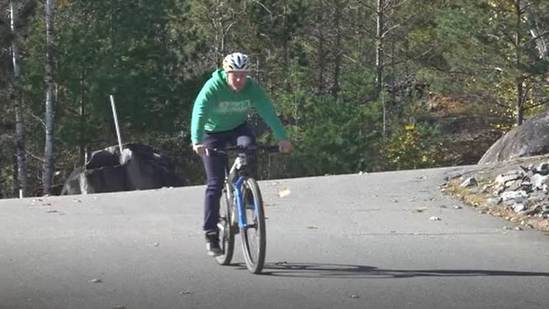 Abe Furth has helped to raise more than $30,000 for Bicycle Coalition of Maine.