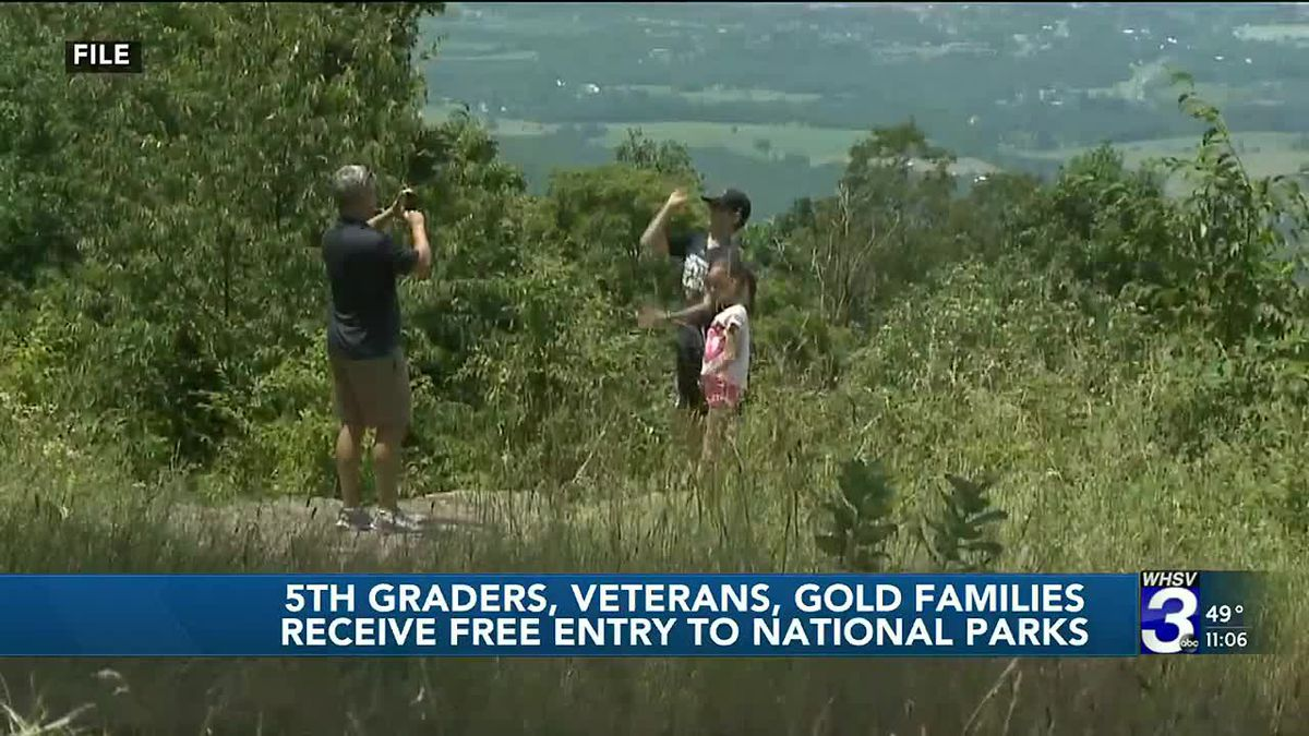 Veterans, Gold Star families, and fifth grade students to receive free admission to national...