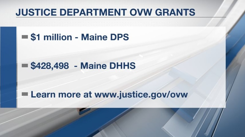 The grant programs aim to develop and strengthen law enforcement and victim services.