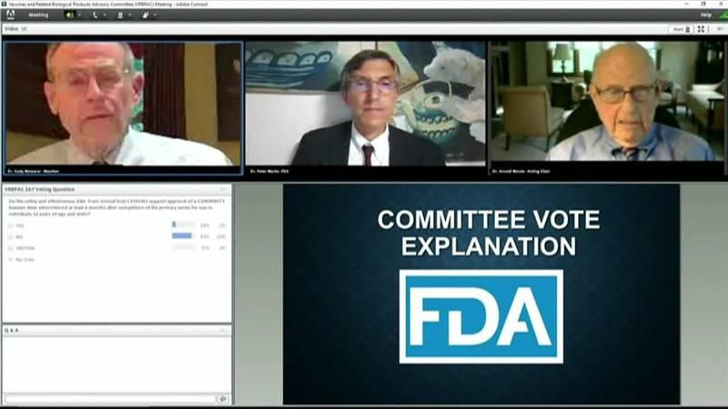 FDA vaccine advisers debate the need for COVID booster shots.