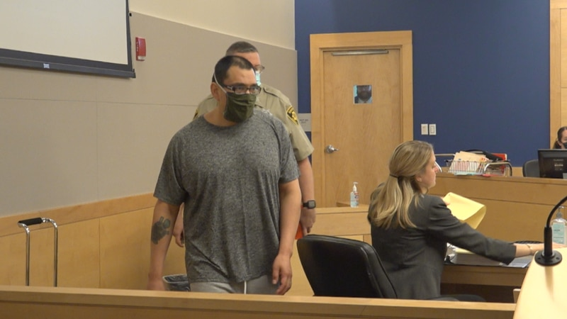 Cote Choneska, 41, appeared before a judge in Bangor Monday for a Harnish hearing.